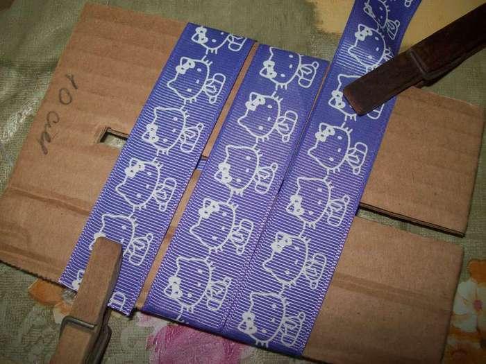 Банты из репсовых лент мастер класс 158