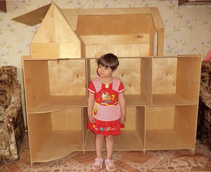 Как сделать своими руками дом для куклы барби