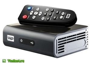 Медиаплеер WD WDBAAP0000NBK-EESN Full HD HDMI Composite Component video Opt. audio Ethernet 2xUSB (300x208, 23Kb)