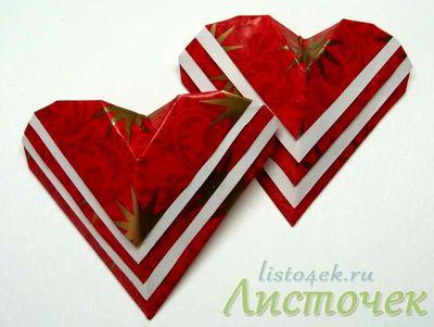 Как сделать сердечки из