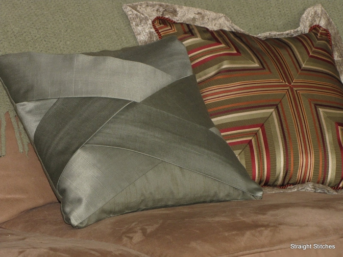 Шить декоративные подушки мастер класс видео подробно #5