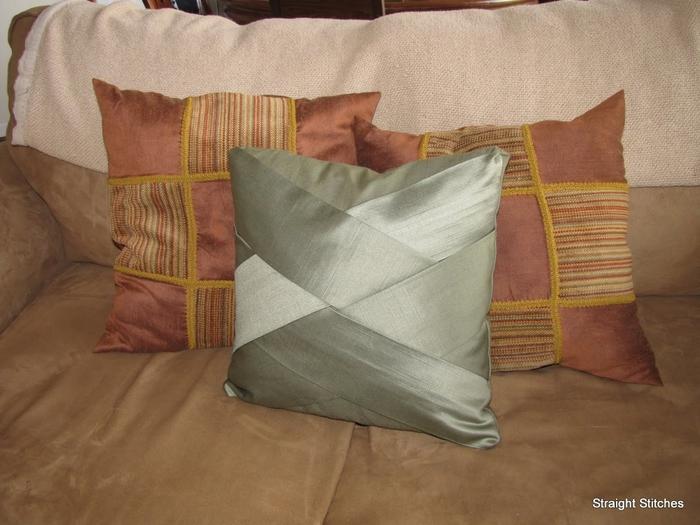 Подушки на диван своими руками мастер класс фото 889