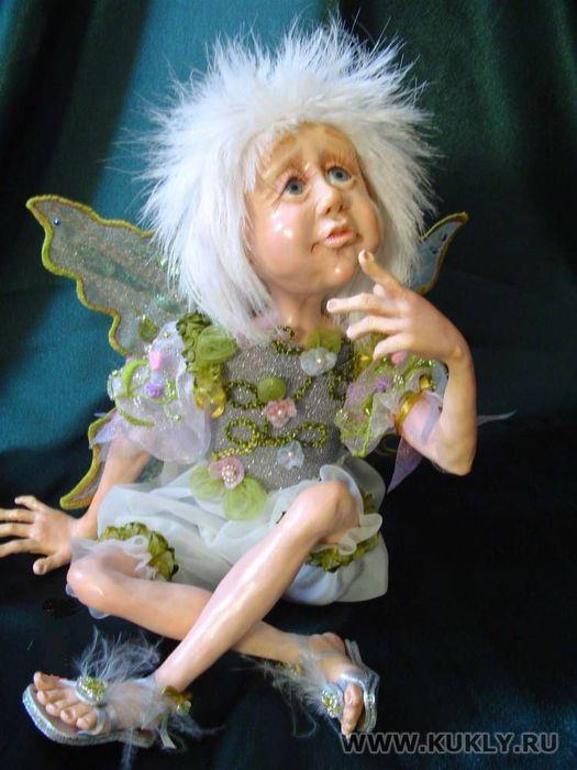 Сказочные куклы Светланы Ежовой