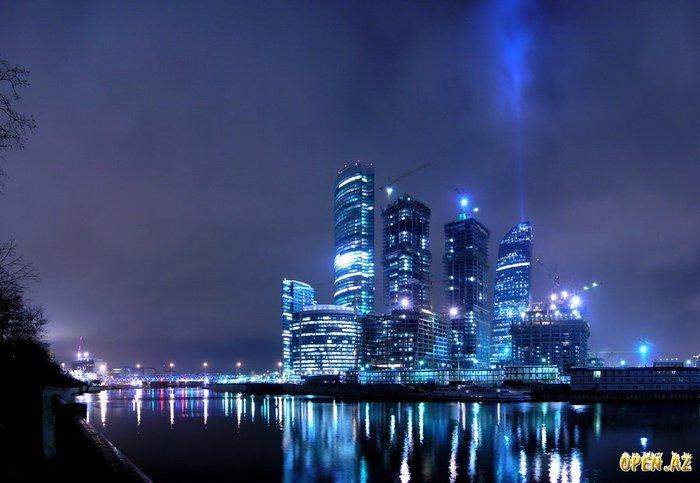 Московский международный деловой центр Москва-Сити - строящийся