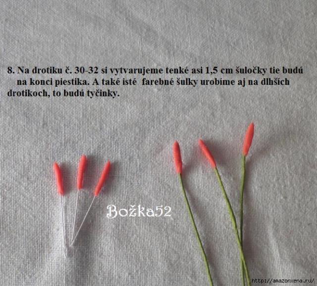 Гладиолусы. Фото мастер-класс по лепке (8) (640x577, 192Kb)