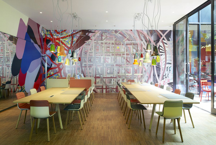 citizenM London Bankside дизайн интерьера фото 12 (700x471, 177Kb)