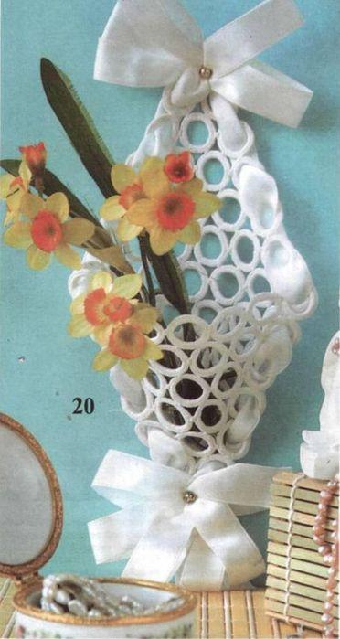 Тамбурное вязание. Декоративный кармашек (1) (372x699, 45Kb)
