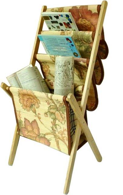 Как сделать подставку для газет и журналов своими руками 12