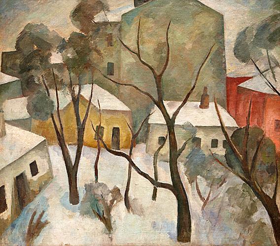 «Московский дворик», 1912 (568x500, 139Kb)