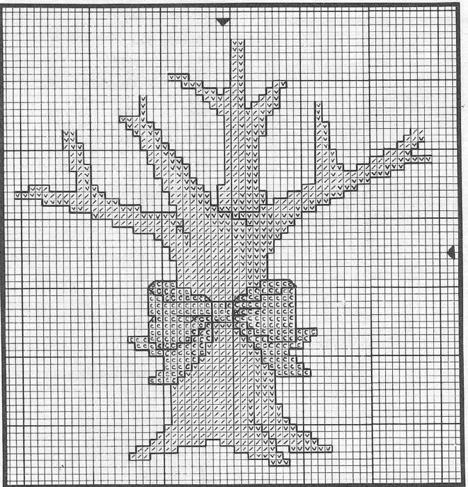 денежное дерево (672x700, 409Kb)