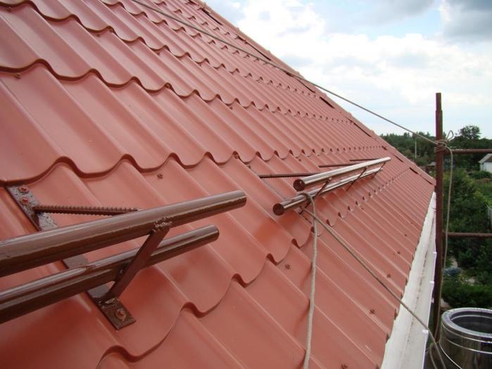 Рассекатель на крышу своими руками