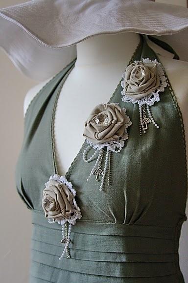 Изделия из ткани своими руками на платья