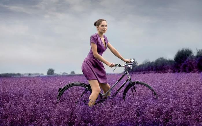 девушка на велосипеде (700x437, 95Kb)