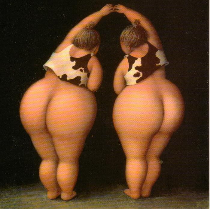 нежные толстушки: