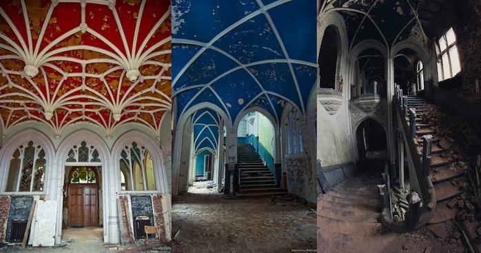 Замок Миранды, Целле, Бельгия1 (700x367, 112Kb)