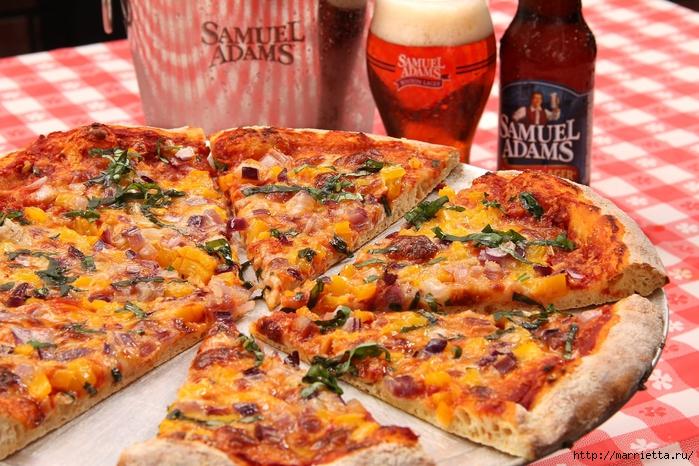 Вкуснейшая пицца на белом соусе (7) (700x466, 350Kb)