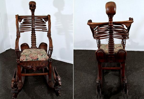 дизайнерские кресла Skeleton Rocking Chairs 1 (600x414, 370Kb)