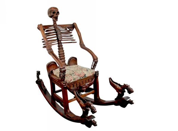 дизайнерские кресла Skeleton Rocking Chairs 3 (600x442, 144Kb)
