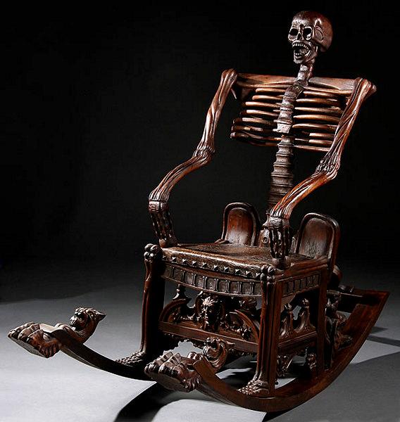 дизайнерские кресла Skeleton Rocking Chairs 6 (568x600, 170Kb)