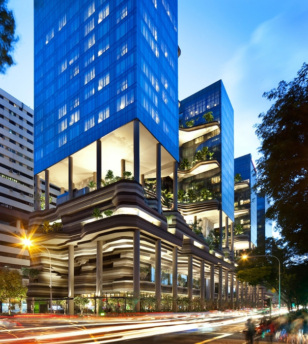 отель  Parkroyal Сингапур 2 (627x700, 410Kb)