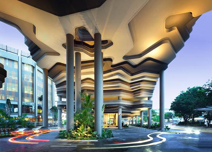 отель  Parkroyal Сингапур 4 (700x501, 219Kb)