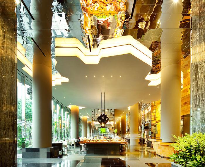 отель  Parkroyal Сингапур 7 (700x569, 310Kb)