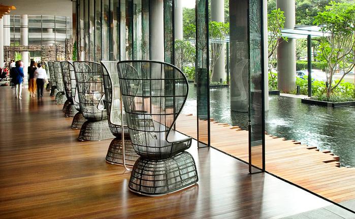 отель  Parkroyal Сингапур 9 (700x431, 225Kb)