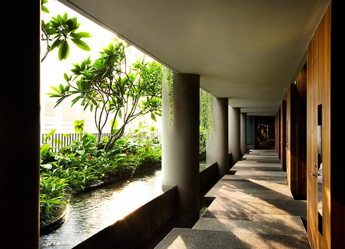 отель  Parkroyal Сингапур 10 (700x506, 222Kb)