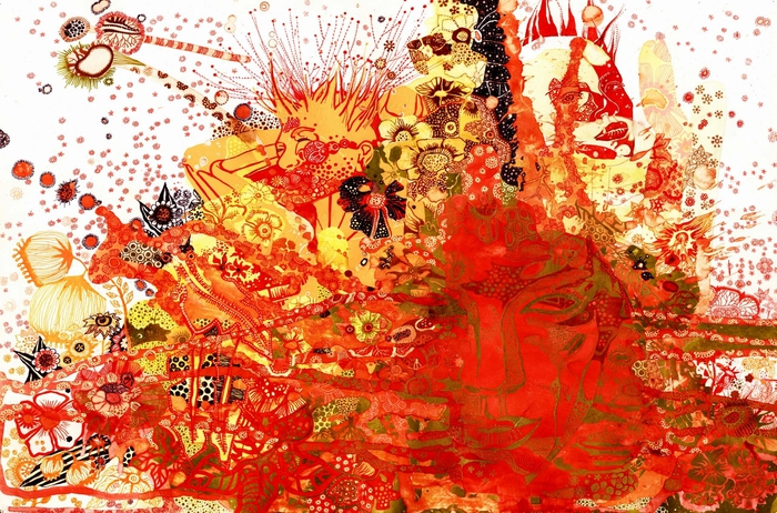 картины художницы Сони Сухарян (700x462, 369Kb)