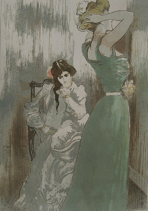 Pierre-Georges JEANNIOT La Toilette 1910 (490x700, 324Kb)