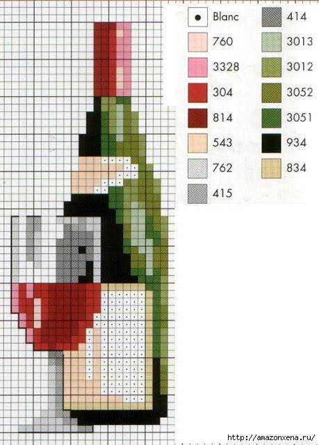 Схема вышивки винограда для скатерти и подушки (10) (459x640, 179Kb)