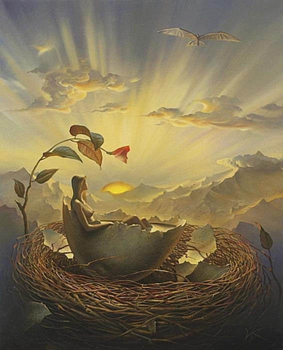 Birth Of Love, Куш Владимир. 319x398. Просмотров: 404. Обновлено: 15 Января 2013 г. www.ArtScroll.ru - Свитки искусства. Галерея