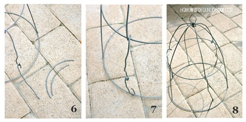 Декоративная клетка из проволоки для плюща (4) (480x239, 46Kb)