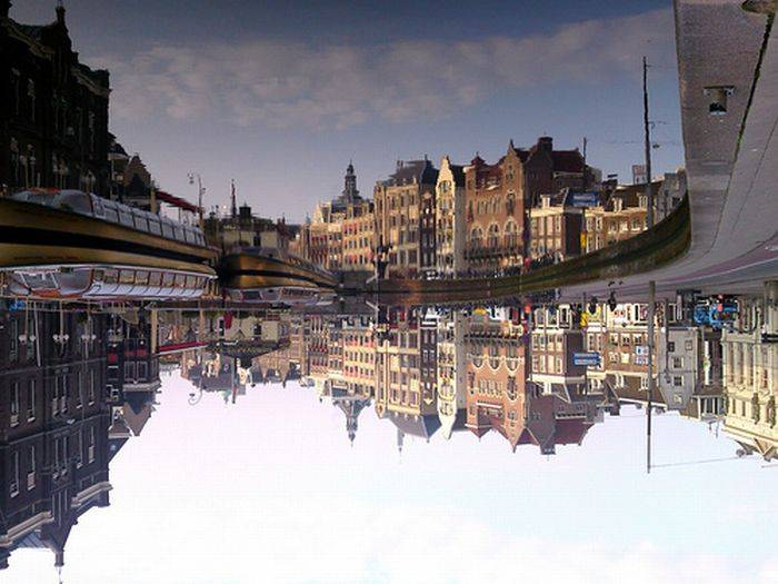 фото отражений в воде (700x525, 56Kb)