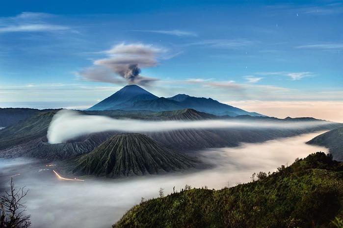 вулкан бромо индонезия фото 1 (700x465, 187Kb)