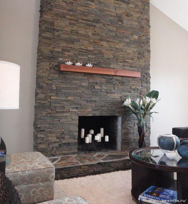 камины в интерьере (71) (600x651, 165Kb)