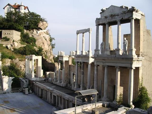 римский форум пловдив болгария фото 1 (640x480, 59Kb)