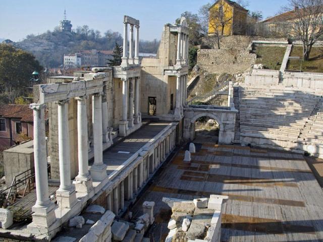 римский форум пловдив болгария фото 3 (640x480, 118Kb)