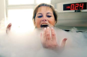 Криотерапия – низкотемпературные воздействия на организм человека!