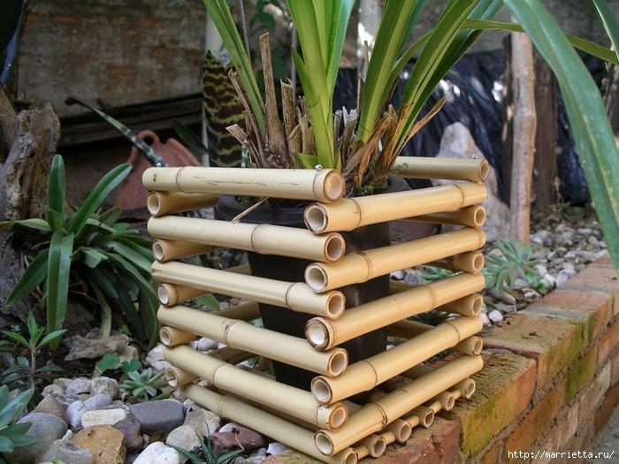 Поделка из бамбука своими руками 3