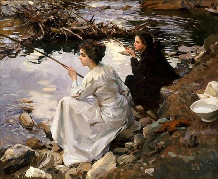 John Singer Sargent (1856-1925).. (700x574, 159Kb)