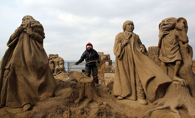 песчаные скульптуры фото 2 (680x414, 60Kb)