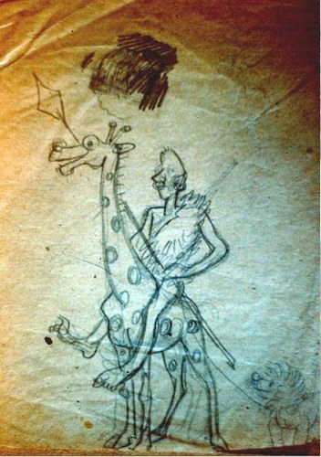 4-Радлов-Гумилев-на-жирафе-и-жираф (352x500, 68Kb)
