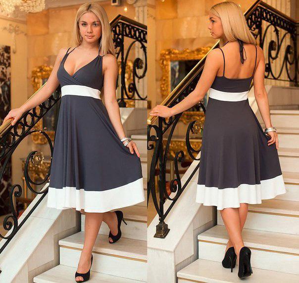 Выкройка летнего платья распечатать