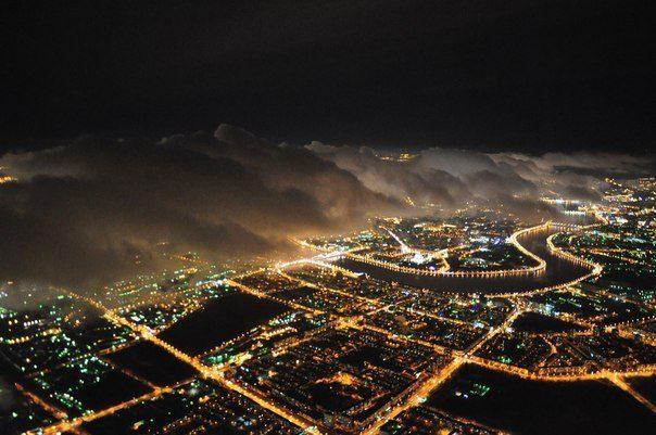 Ночной Санкт-Петербург, Россия (604x401, 53Kb)