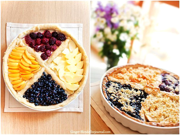 четырехцветный пирог (604x453, 119Kb)