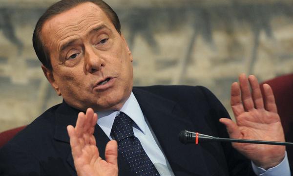 Берлускони попросит отложить голосование про исключении из сената