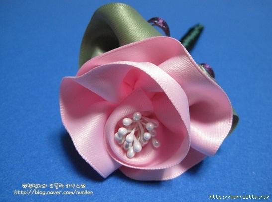 роза из ленты (1) (547x405, 111Kb)