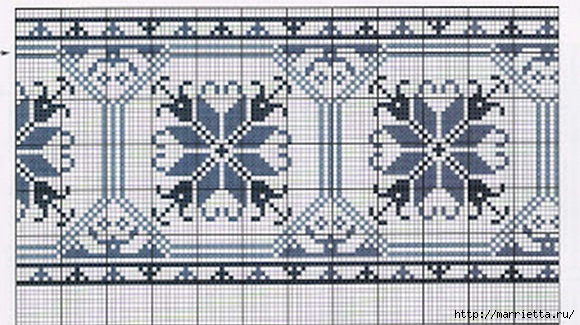 Вышивка на скатерти. Схемы (3) (580x325, 166Kb)