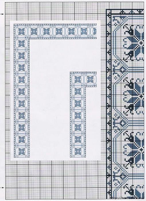 Вышивка на скатерти. Схемы (5) (509x700, 260Kb)